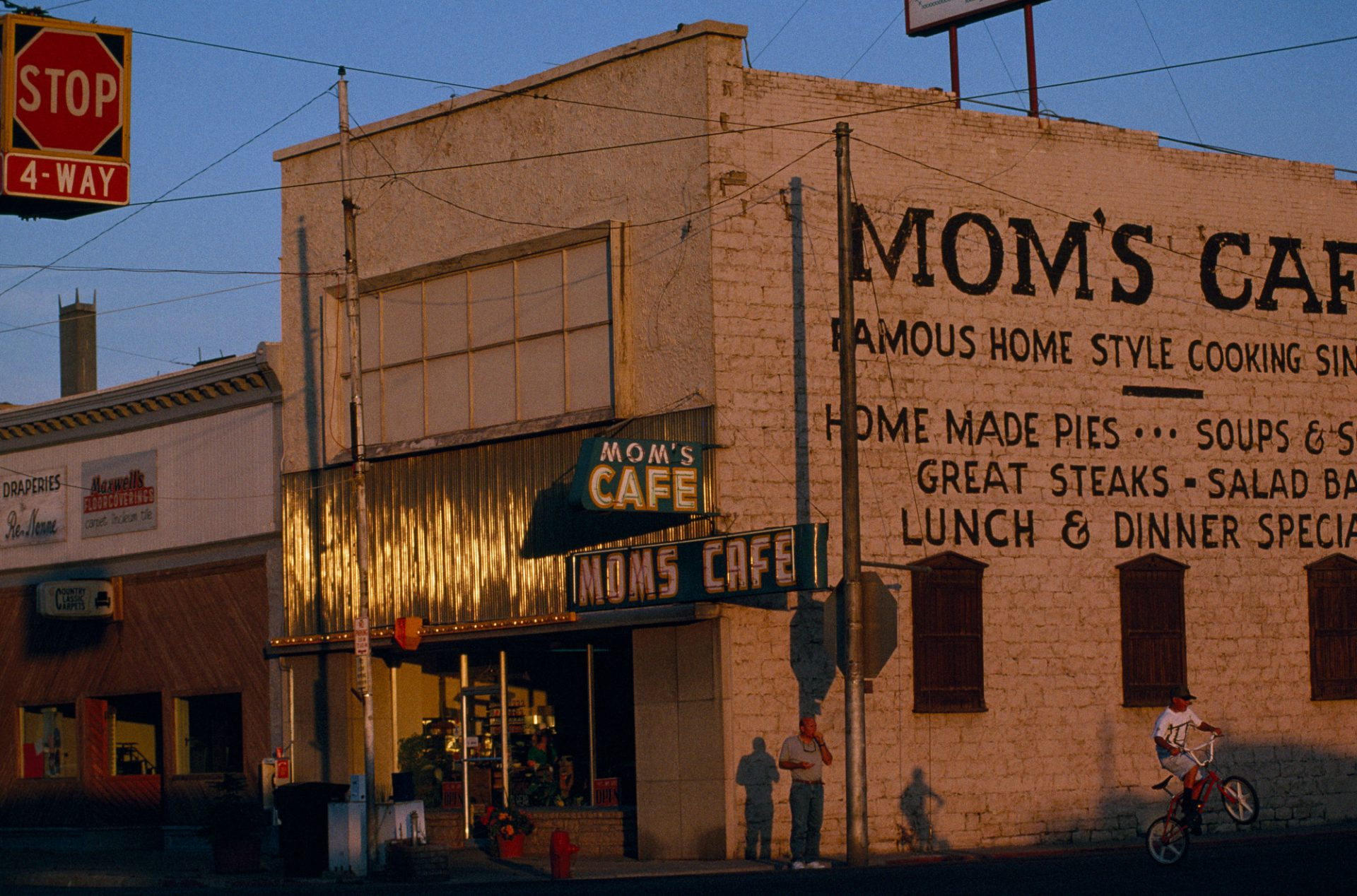 Photo: Mom's Cafe, serving home-style western food, Salina, Utah.