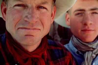 Photo: A Nebraska Sandhills rancher and his son.