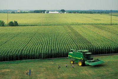 Photo: A family corn farm near Seward, Nebraska.