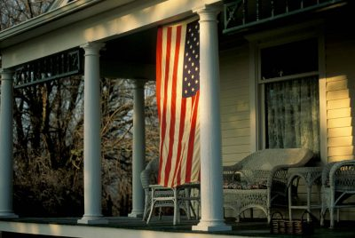 Photo: The porch at Waveland Farm near Bennet, NE.