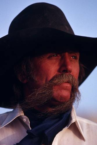 Photo: Portrait of a cowboy on an Idaho ranch.