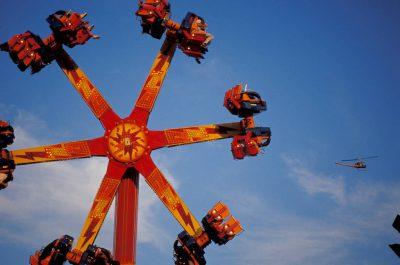 Photo: Ride at the State Fair in Lincoln, NE.