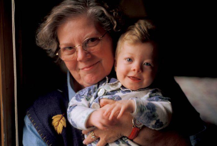 Photo: Sharon Sartore and her granddaughter, Ellen.
