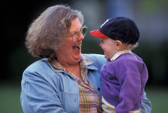 Photo: Sharon Sartore and her grandson, Cole.