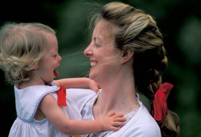 Photo: Kathy Sartore with her daughter, Ellen.
