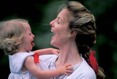Photo: Kathy Sartore with her daughter, Ellen.