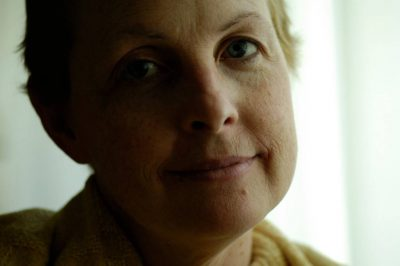 Photo: Kathy Sartore, just after finishing chemotherapy for breast cancer.