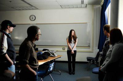 Photo: Inside a classroom in Fairbanks, Alaska.