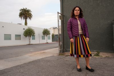 Photo: A woman in Los Angeles, California.