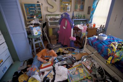Photo: Cole Sartore, crown prince of messy rooms.