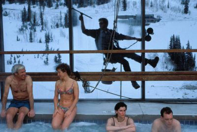 Photo: Vacationers at the Snowbird Ski Resort in Utah.