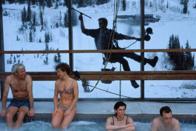 Photo: Vacationers at the Snowbird Ski Resort in Utah.