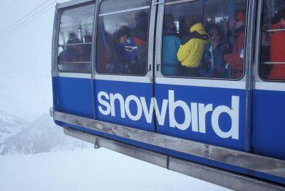 Photo: Tram at Snowbird Ski Resort in Utah.