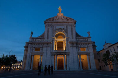 Photo: The Basilica of Santa Maria degli Angeli -- a cathedral housing the Porziuncola, a church restored by St. Francis and the place where he first understood his vocation -- in Assisi, Italy.