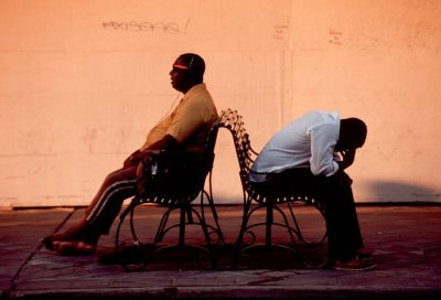 Photo: Street scene from New Orleans, Louisiana.