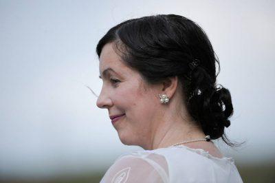 Photo: A bride on her wedding day in Nebraska.