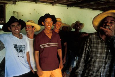 Photo: Pantanieros (cowboys) in Brazil's Pantanal.