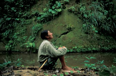 Photo: Rosamaria Ruiz, an environmental activist, in Madidi National Park, Bolivia.