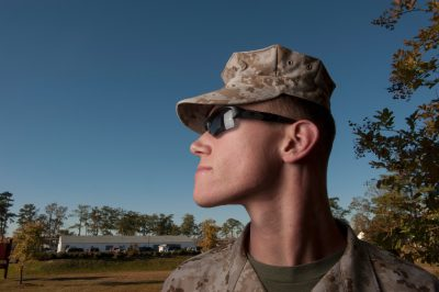 Photo: A portrait of a military man.