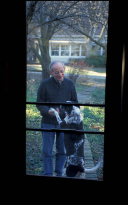 Photo: Ted Kooser, the 13th Poet Laureate of the United States, at his home near Garland, Nebraska.