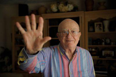 Photo: A senior man in Nebraska.