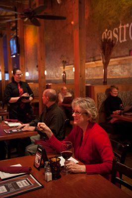 Photo: The inside of a restaurant in Lincoln, Nebraska.