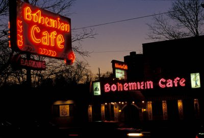 Photo: The Bohemian Cafe in Omaha, Nebraska.