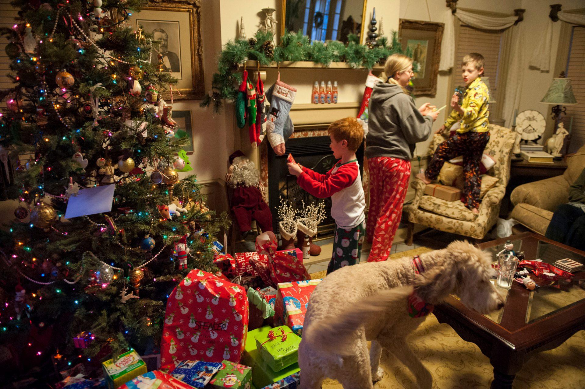 Photo: Christmas time in Lincoln, Nebraska.
