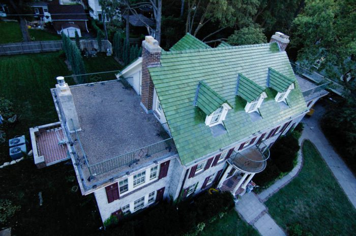 Photo: An aerial of a home in Lincoln, Nebraska.