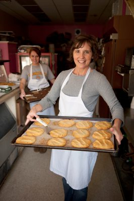 Photo: Cookies are prepared at the The Cookie Company, in Lincoln, Nebraska.