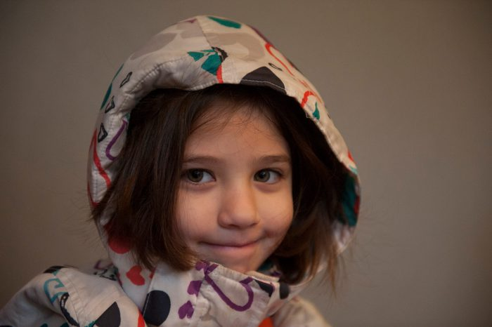 Photo: A young girl in Washington, DC.