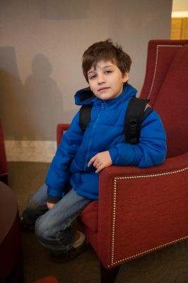 Photo: A young boy in Washington, DC.