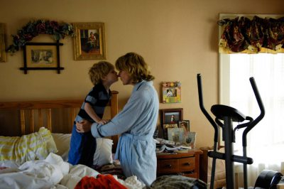 Photo: A mother and son