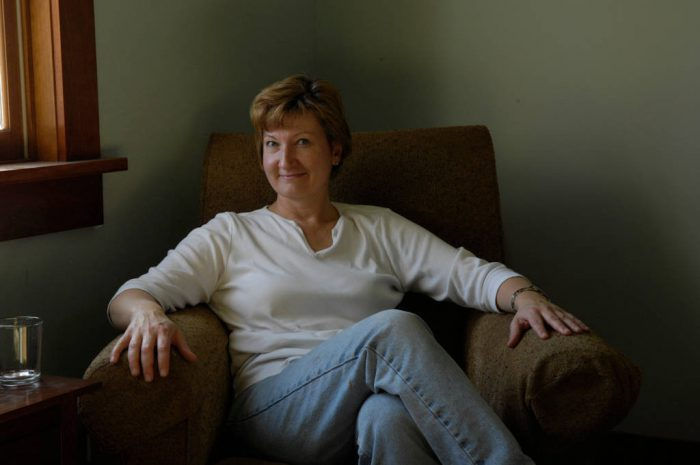 Photo: Portrait of a woman at her home in Lincoln, Nebraska.