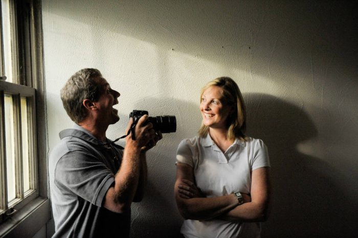 Photo: A portrait of Joel and Kathy Sartore.