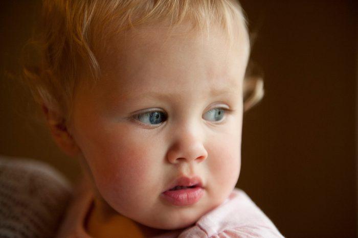 Photo: A portrait of a little girl in Lincoln, Nebraska.