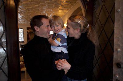 Photo: A family portrait.
