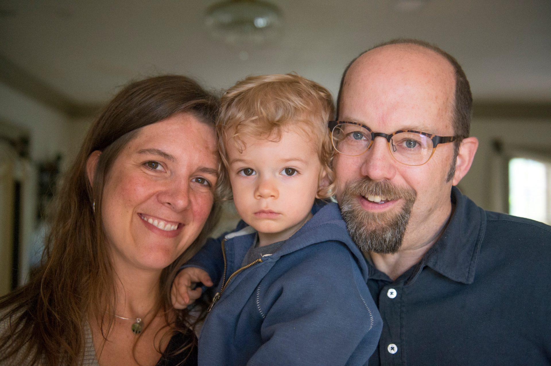 Photo: A family portrait, Lincoln, Nebraska.