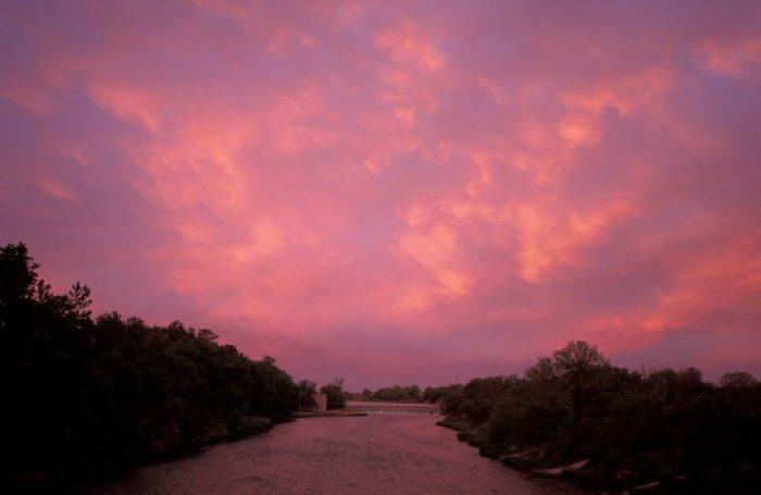 Photo: A scenic view of Valentine River in Nebraska.