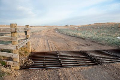 Photo: A small bridge on a county road in the Nebraska Sandhills.