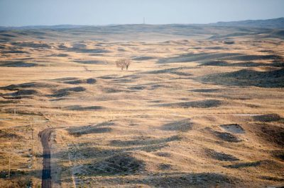 Photo: A scenic view of the Nebraska Sandhills.