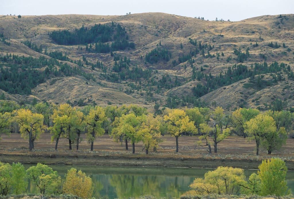 Photo: Upper Missouri River Breaks in Charles M. Russell NWR, Montana.