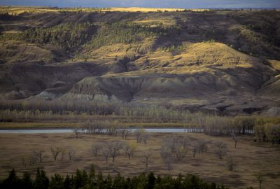 Photo: Upper Missouri River Breaks in Charles M. Russell NWR, Montana.