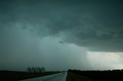 Photo: Storm clouds form over Iowa.