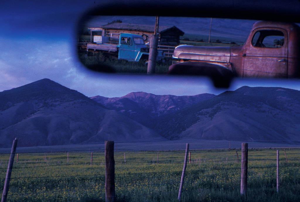 Photo: Rural scene near May, Idaho.