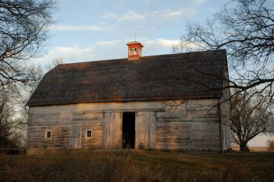 Photo: The barn at historic Waveland Farm near Lincoln, NE.