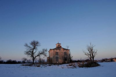 Photo: Stone farmhouse (abandoned) near Ashland, NE.