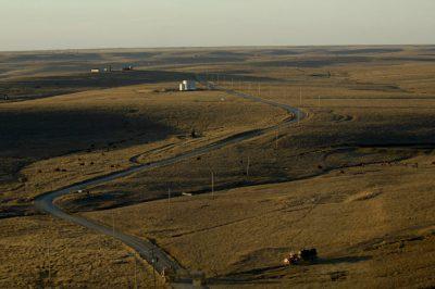 Photo: The Tallgrass Prairie Preserve near Pawhuska, Oklahoma.