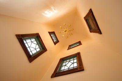 Photo: Windows adorn a house in Nebraska.