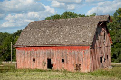 Photo: An abandoned barn near Dunbar, Nebraska.